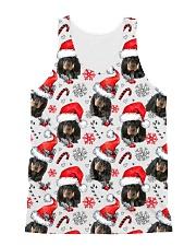 Black Tan Coonhound Xmas Decor All-over Unisex Tank thumbnail