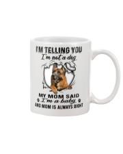 German Shepherd Telling Mug front