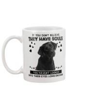 Labrador Retriever 1 Soul Mug back