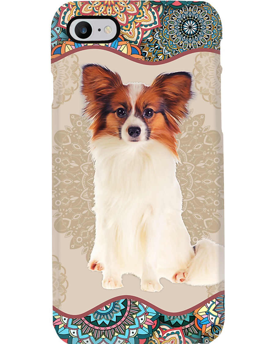 Papillon Boho Mandala PC Phone Case