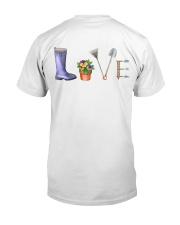 Heureux Jardin PERFECT GIFT  Classic T-Shirt back