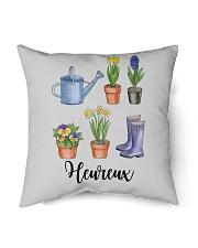 """Heureux Jardin PERFECT GIFT  Indoor Pillow - 16"""" x 16"""" thumbnail"""