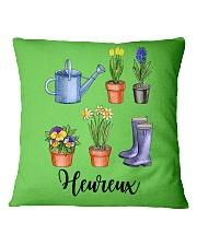 Heureux Jardin PERFECT GIFT  Square Pillowcase thumbnail