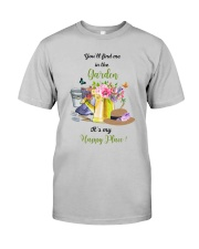 HAPPY PLACE GARDEN  Classic T-Shirt tile