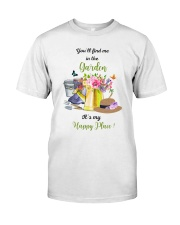 HAPPY PLACE GARDEN  Classic T-Shirt front