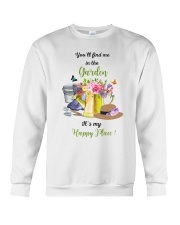 HAPPY PLACE GARDEN  Crewneck Sweatshirt thumbnail