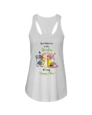 HAPPY PLACE GARDEN  Ladies Flowy Tank thumbnail