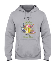HAPPY PLACE GARDEN  Hooded Sweatshirt thumbnail