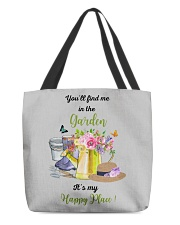 HAPPY PLACE GARDEN  All-over Tote thumbnail