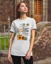 TOURNESOL MA FILLE - PRINT TWO SIDED - PERFECT GIF Classic T-Shirt apparel-classic-tshirt-lifestyle-06