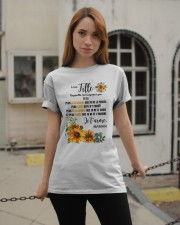 TOURNESOL MA FILLE - PRINT TWO SIDED - PERFECT GIF Classic T-Shirt apparel-classic-tshirt-lifestyle-19