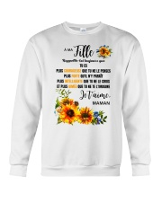 TOURNESOL MA FILLE - PRINT TWO SIDED - PERFECT GIF Crewneck Sweatshirt tile