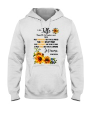 TOURNESOL MA FILLE - PRINT TWO SIDED - PERFECT GIF Hooded Sweatshirt thumbnail