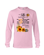 TOURNESOL MA FILLE - PRINT TWO SIDED - PERFECT GIF Long Sleeve Tee thumbnail