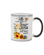 TOURNESOL MA FILLE - PRINT TWO SIDED - PERFECT GIF Color Changing Mug thumbnail
