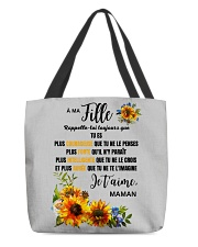 TOURNESOL MA FILLE - PRINT TWO SIDED - PERFECT GIF All-over Tote thumbnail