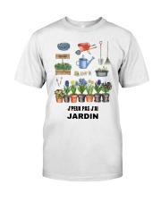 J'PEUX PAS J'AI JARDIN - PRINT TWO-SIDED Classic T-Shirt front