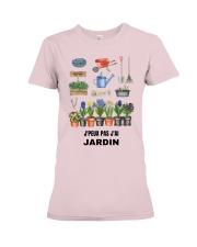 J'PEUX PAS J'AI JARDIN - PRINT TWO-SIDED Premium Fit Ladies Tee thumbnail