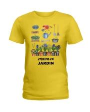J'PEUX PAS J'AI JARDIN - PRINT TWO-SIDED Ladies T-Shirt thumbnail