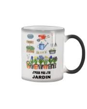 J'PEUX PAS J'AI JARDIN - PRINT TWO-SIDED Color Changing Mug thumbnail