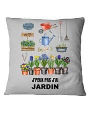 J'PEUX PAS J'AI JARDIN - PRINT TWO-SIDED Square Pillowcase thumbnail