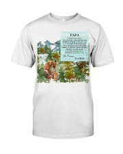 CADEAU PAPA PERFECT GIFT  Classic T-Shirt front