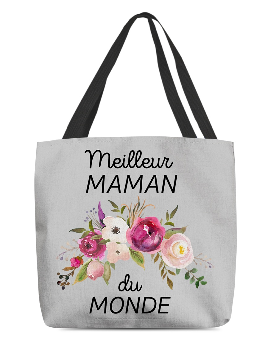 PERFECT GIFT  Print two-sided Meilleur maman  All-over Tote