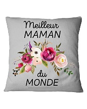 PERFECT GIFT  Print two-sided Meilleur maman  Square Pillowcase thumbnail