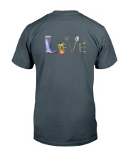 MON BUREAU JARDIN - PRINT TWO SIDED - PERFECT GIFT Classic T-Shirt back