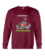 MON BUREAU JARDIN - PRINT TWO SIDED - PERFECT GIFT Crewneck Sweatshirt thumbnail