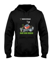 MON BUREAU JARDIN - PRINT TWO SIDED - PERFECT GIFT Hooded Sweatshirt thumbnail