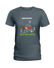 MON BUREAU JARDIN - PRINT TWO SIDED - PERFECT GIFT Ladies T-Shirt thumbnail