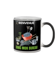 MON BUREAU JARDIN - PRINT TWO SIDED - PERFECT GIFT Color Changing Mug thumbnail
