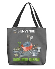 MON BUREAU JARDIN - PRINT TWO SIDED - PERFECT GIFT All-over Tote thumbnail