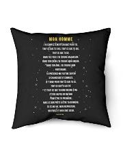 """MON HOMME - Print TWO SIDED - CADEAU PARFAIT Indoor Pillow - 18"""" x 18"""" thumbnail"""