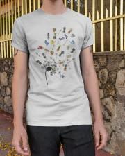 GARDEN DANDELION Classic T-Shirt apparel-classic-tshirt-lifestyle-21
