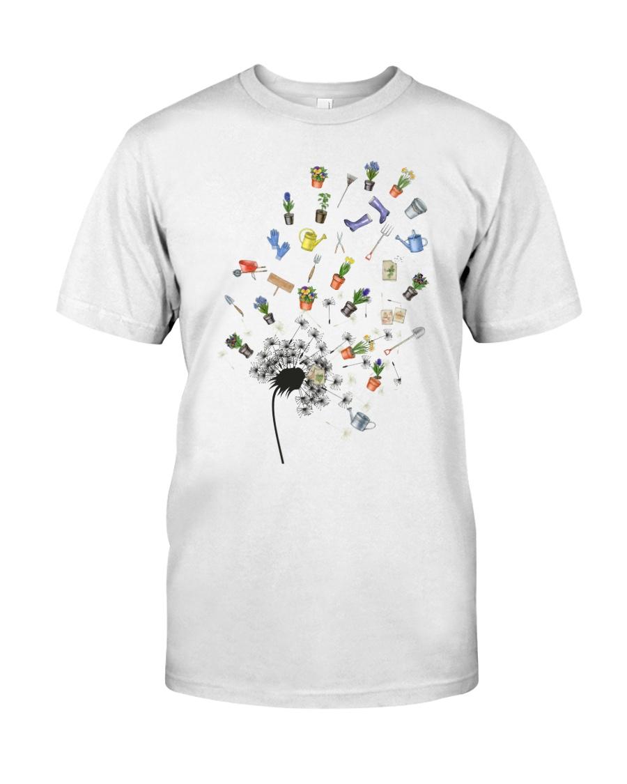GARDEN DANDELION Classic T-Shirt