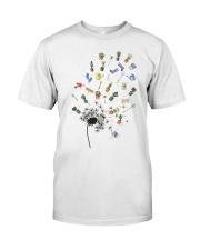 GARDEN DANDELION Classic T-Shirt front