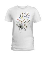 GARDEN DANDELION Ladies T-Shirt thumbnail