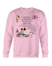 À MA FILLE - SUPER GIFT  Crewneck Sweatshirt tile