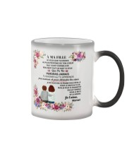À MA FILLE - SUPER GIFT  Color Changing Mug thumbnail