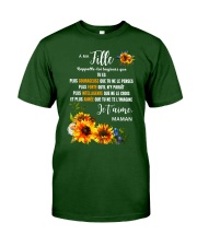 À Ma Fille Perfect gift Sunflower Classic T-Shirt tile