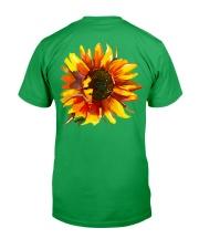 À Ma Fille Perfect gift Sunflower Classic T-Shirt back