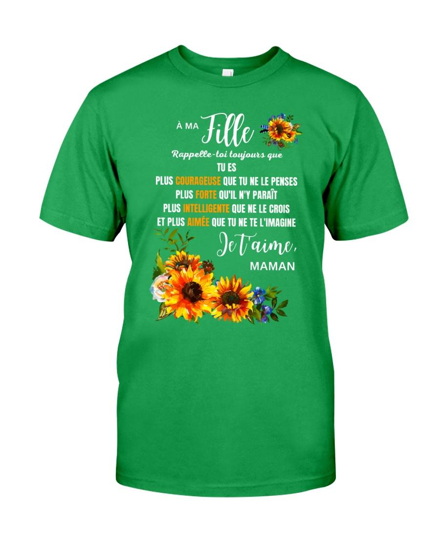 À Ma Fille Perfect gift Sunflower Classic T-Shirt