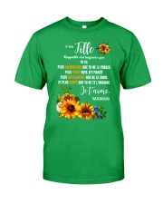 À Ma Fille Perfect gift Sunflower Classic T-Shirt front