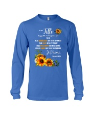 À Ma Fille Perfect gift Sunflower Long Sleeve Tee thumbnail