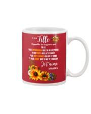À Ma Fille Perfect gift Sunflower Mug thumbnail
