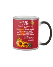 À Ma Fille Perfect gift Sunflower Color Changing Mug thumbnail