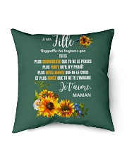 """À Ma Fille Perfect gift Sunflower Indoor Pillow - 16"""" x 16"""" thumbnail"""