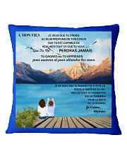 À MON FILS - PERFECT GIFT  Square Pillowcase thumbnail